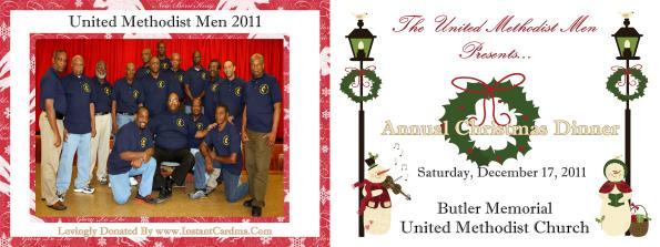 Holiday 2011 Folded Program (Outside)