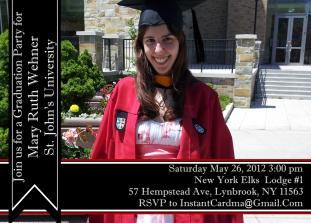 Banner Grad Day (Front)