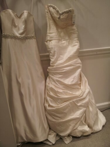 Klienfeld Wedding Dress Shopping 08.23.2012