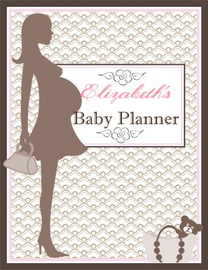 Small Planner Cover Expecting 1 (Front)