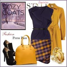 Cozy Fall/Winter Look From www.FashionPressPass.com